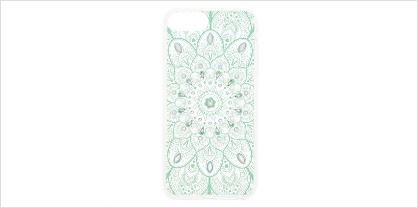 Go to Product: Iridescent Stone Mandala - Fits iPhone 5/5S/5SE from Claires