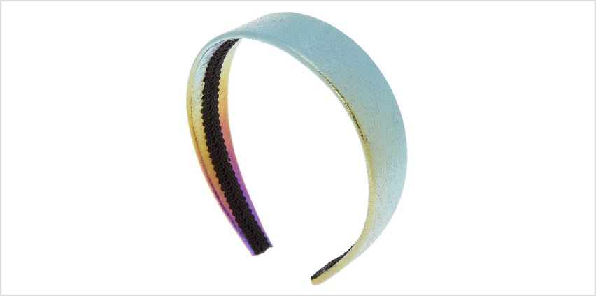 Go to Product: Wide Anodized Headband from Claires