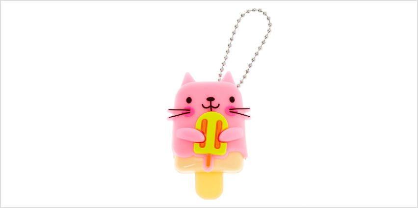 Go to Product: Pucker Pops Popsicle Cat Lip Gloss - Strawberry Lemonade from Claires