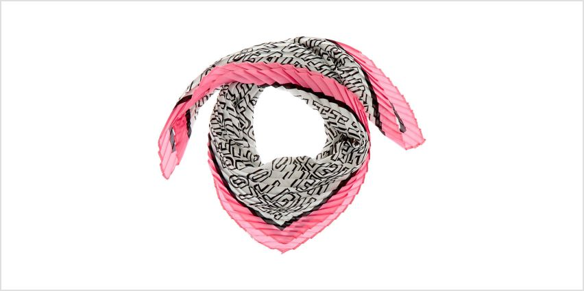 Go to Product: Square Beautiful Satin Fashion Scarf - Pink from Claires