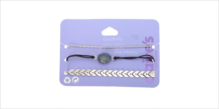 Go to Product: Lapis Lazuli Creativity Chain Bracelets - 3 Pack from Claires