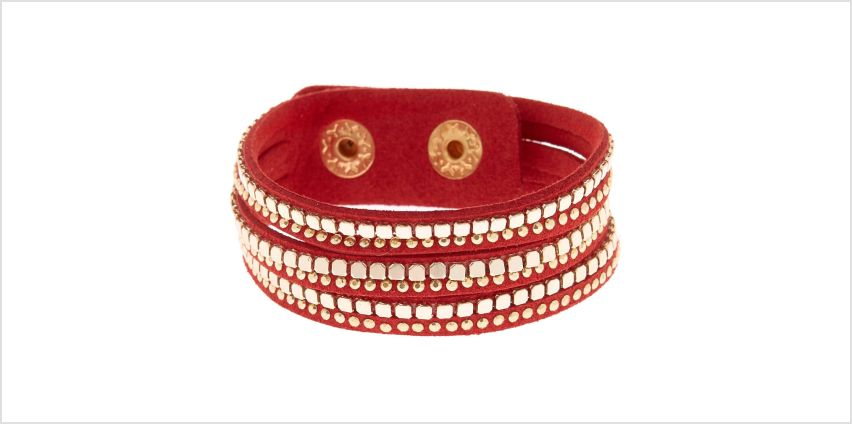 Go to Product: Western Wrap Bracelet - Red from Claires