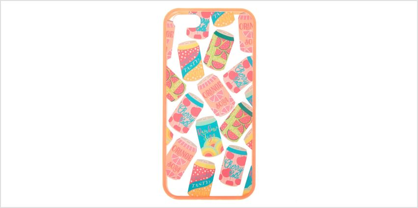 Go to Product: Fruit Soda Phone Case - Fits iPhone 5/5S/SE from Claires