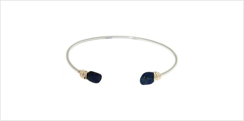 Go to Product: Lapis Lazuli Compassion Cuff Bracelet from Claires