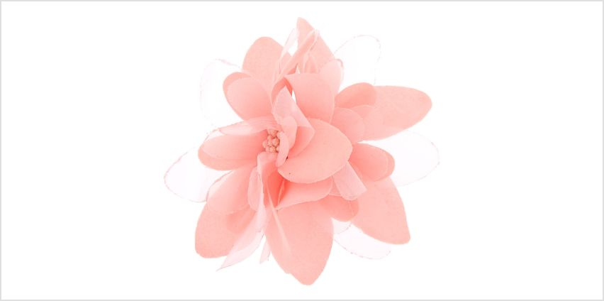 Go to Product: Flower Hair Barrette - Pink from Claires