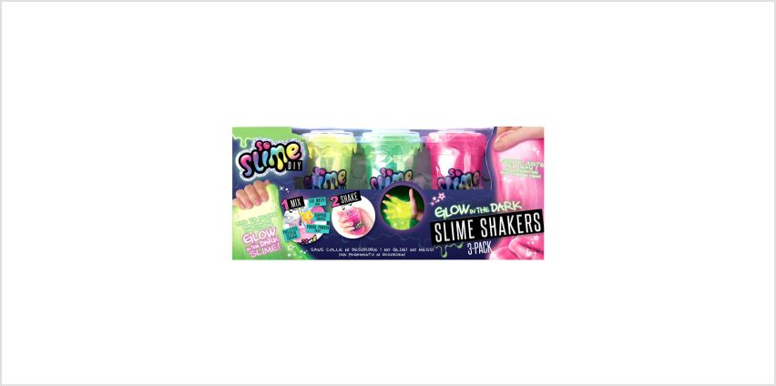 Go to Product: So Slime DIY™ Glow In The Dark Slime Shakers - 3 pack from Claires
