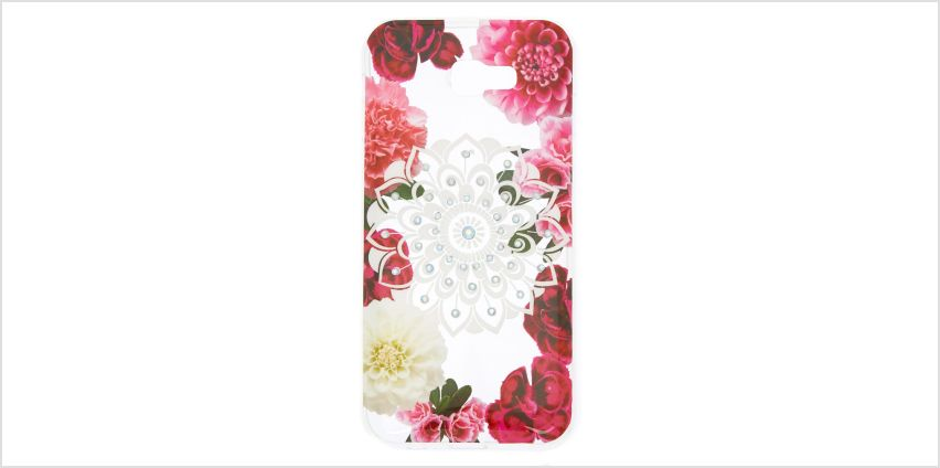 Go to Product: Rose Gold Marble Protective Phone Case - Fits Samsung Galaxy A7 from Claires