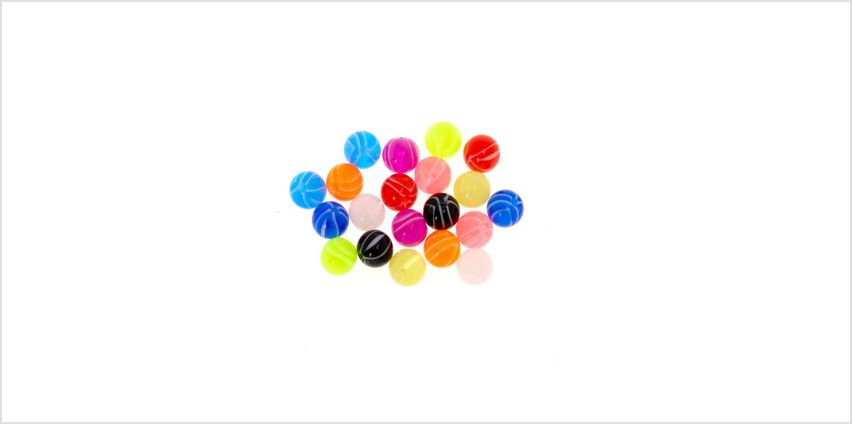 Go to Product: Mixed Swirl Replacement Balls from Claires
