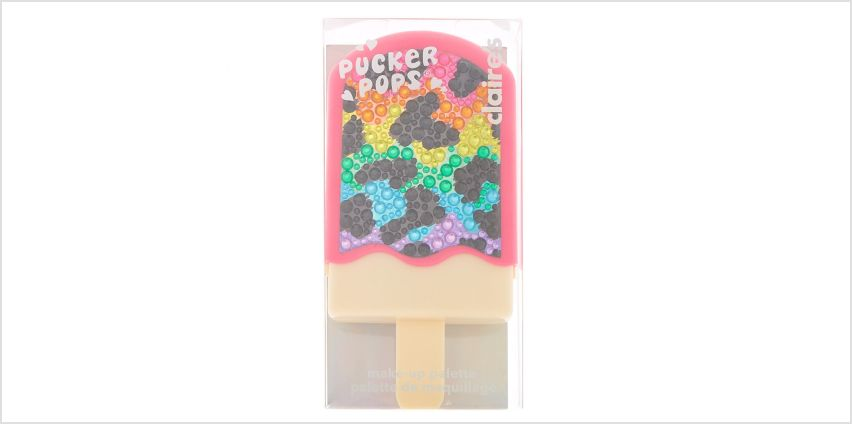 Go to Product: Pucker Pops Rainbow Leopard Makeup Set from Claires
