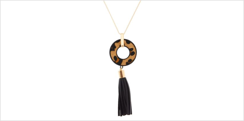 Go to Product: Leopard Tassel Long Pendant Necklace from Claires