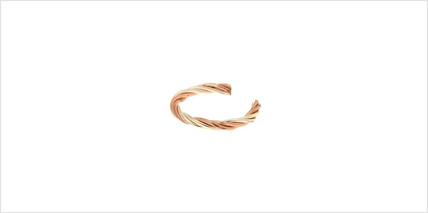 Go to Product: Mixed Metal Twist Toe Ring from Claires
