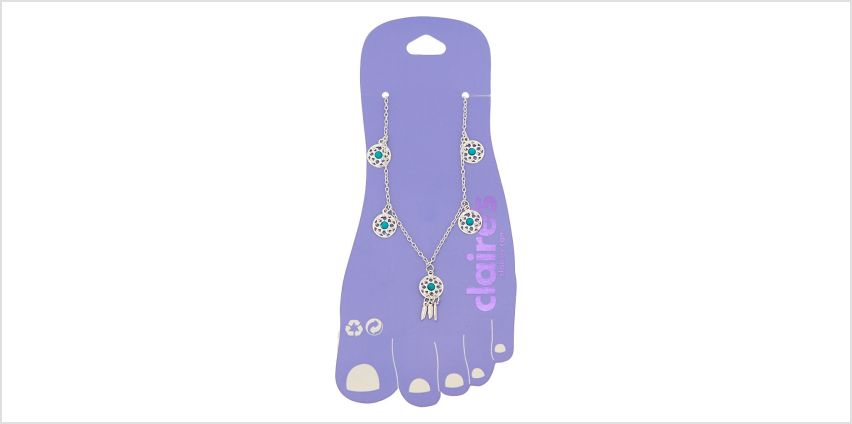 Go to Product: Dreamcatcher Charm Anklet - Turquoise from Claires
