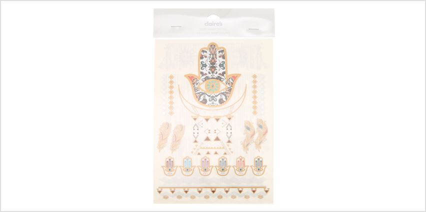Go to Product: Hamsa Art Temporary Tattoos from Claires