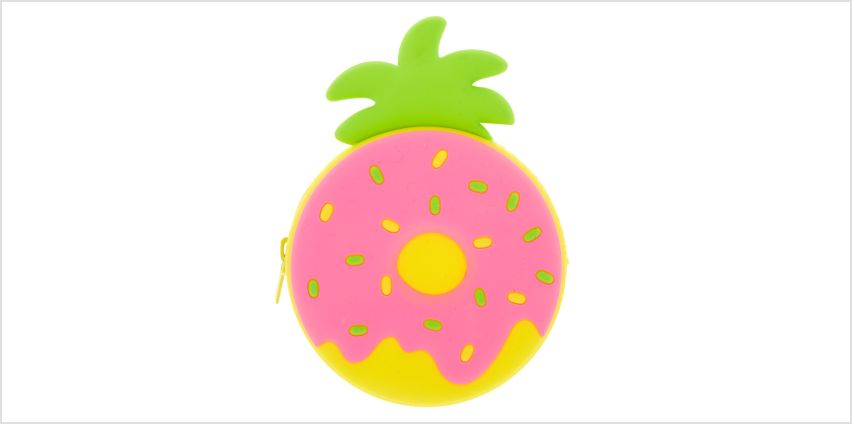 Go to Product: Pineapple Donut Jelly Coin Purse - Pink from Claires