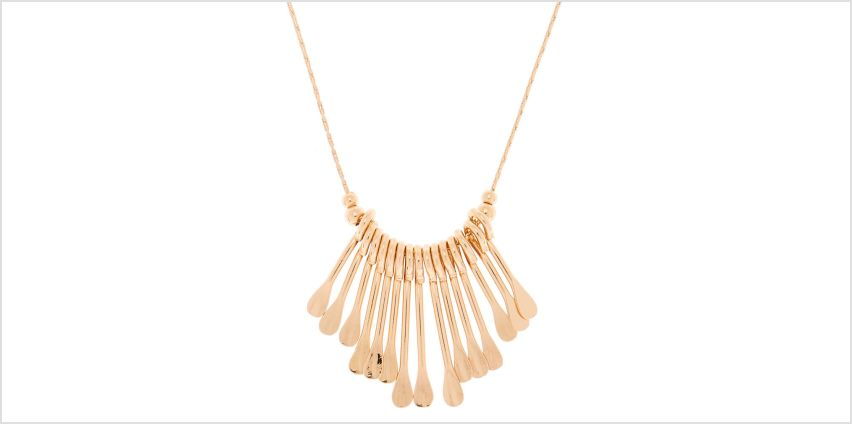 Go to Product: Rose Gold Mini Bar Statement Necklace from Claires