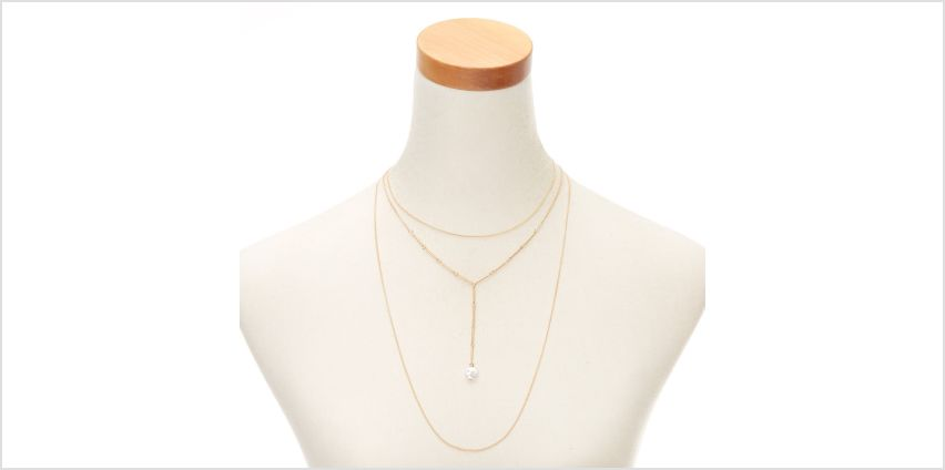 Go to Product: Gold Pearl Multi Strand Necklace from Claires
