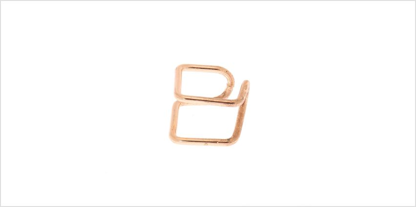 Go to Product: Rose Gold Double Band Square Ear Cuff from Claires