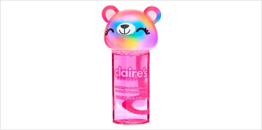 Go to Product: Sugar the Bear Bubble Bath - Strawberry from Claires
