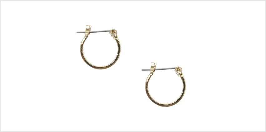 Go to Product: Gold 15MM Square Edge Hoop Earrings from Claires
