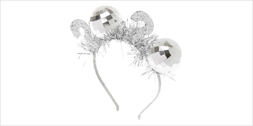 Go to Product: 2020 Disco Headband - Silver from Claires