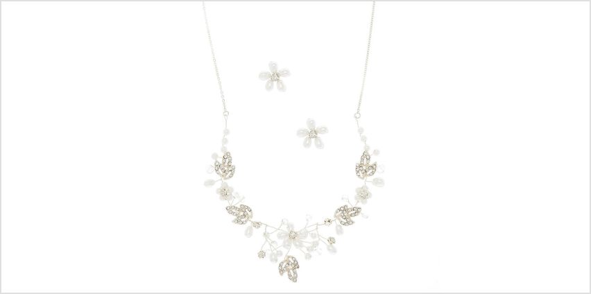 Pearl Floral Vine Jewellery Set - 2 Pack from Claires