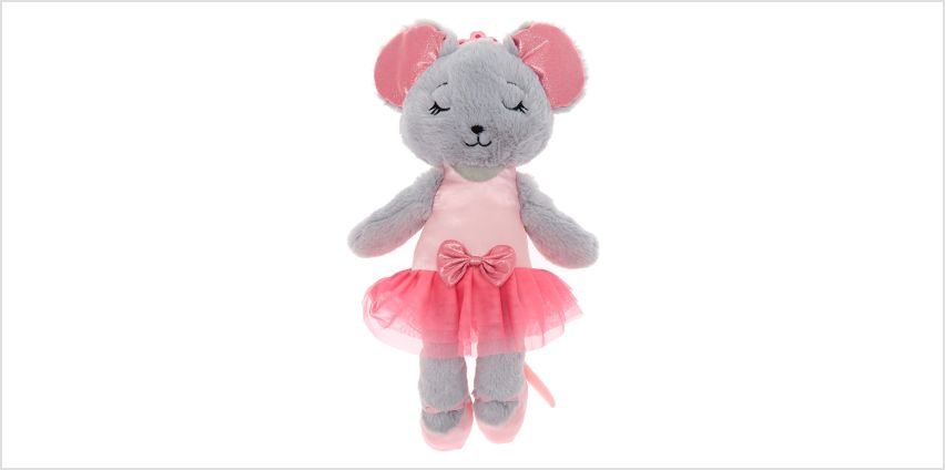 Claire's Club Medium Chloe the Mouse Soft Toy from Claires