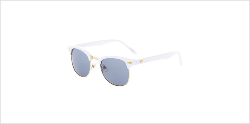 Go to Product: Gold Browline Sunglasses - White from Claires