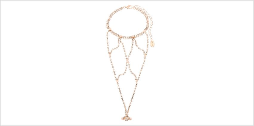 Go to Product: Rose Gold Glam Hand Chain from Claires
