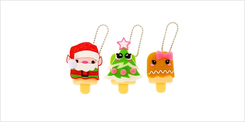 Go to Product: Pucker Pops Christmas Lip Gloss Set - 3 Pack from Claires