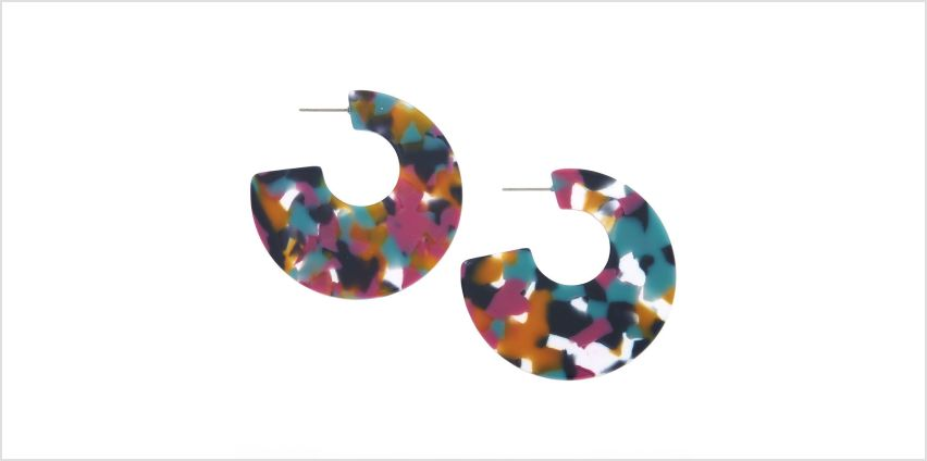 Go to Product: 50MM Resin Hoop Earrings from Claires