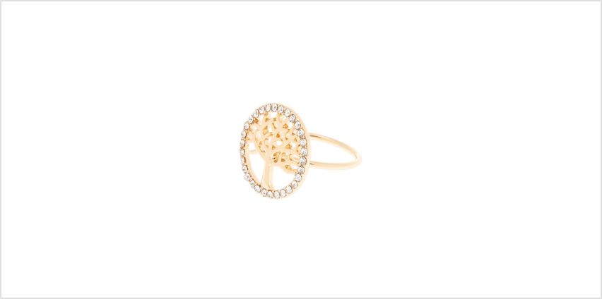 Go to Product: Gold Tree Of Life Ring from Claires