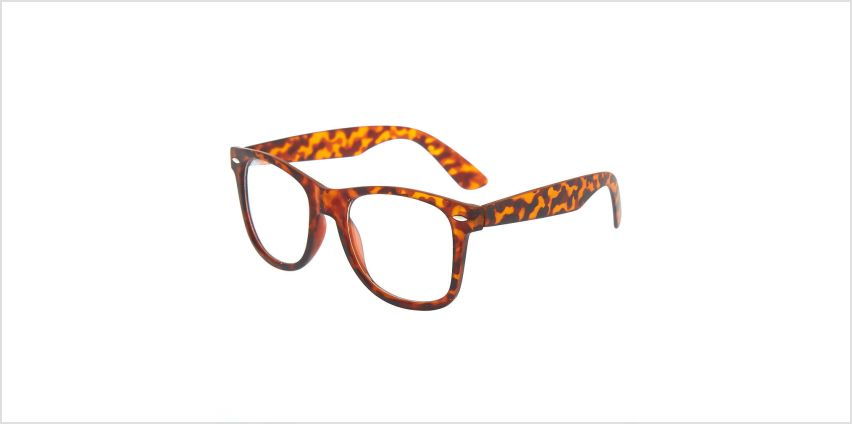 Go to Product: Tortoiseshell Retro Clear Lens Frames - Brown from Claires