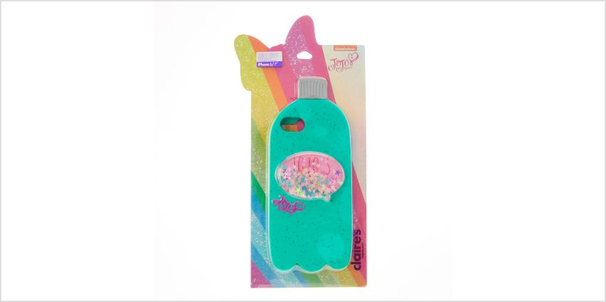 Go to Product: JoJo's Juice Mint Green Glitter Phone Case - Fits iPhone 6/7/8 from Claires
