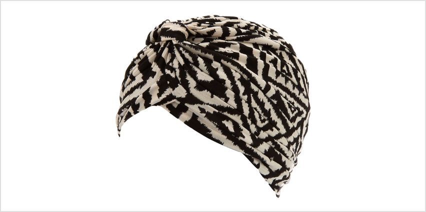 Go to Product: Black & White Aztec Turban Headwrap from Claires