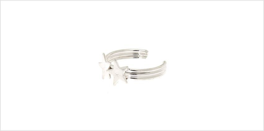 Go to Product: Silver Double Star Toe Ring from Claires