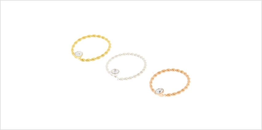Go to Product: Sterling Silver Mixed Metal 22G Twisted Nose Rings - 3 Pack from Claires