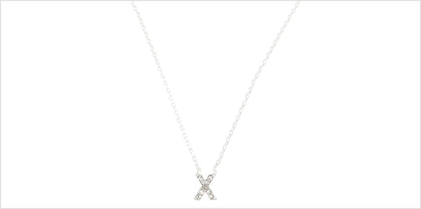 Go to Product: X Pendant Necklace from Claires
