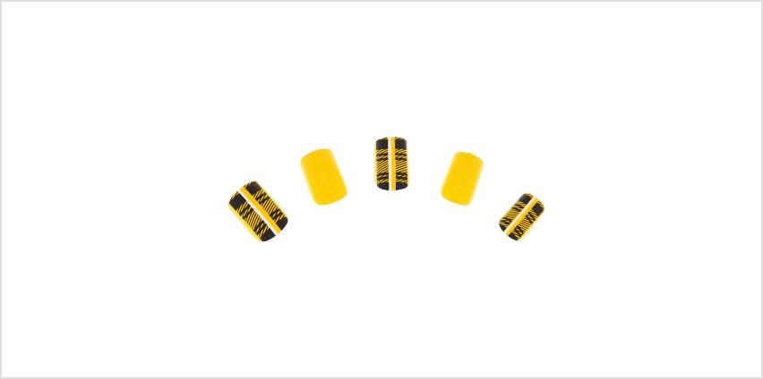 Go to Product: Plaid Square Faux Nail Set - Mustard, 24 Pack from Claires