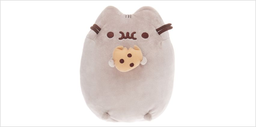 Go to Product: Pusheen® Medium Cookie Soft Toy – Grey from Claires