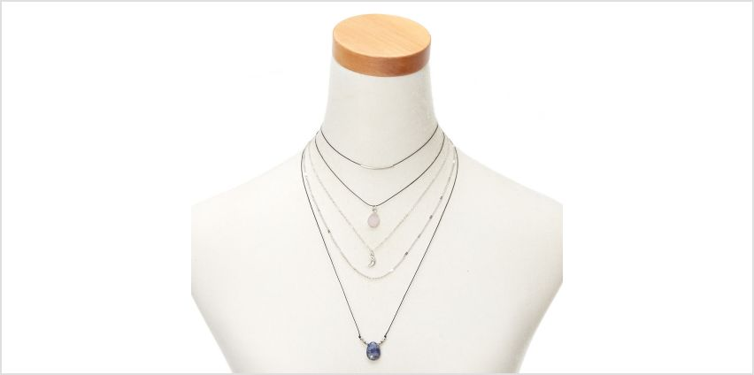 Go to Product: Mystical Stone Multi Strand Choker Necklace from Claires