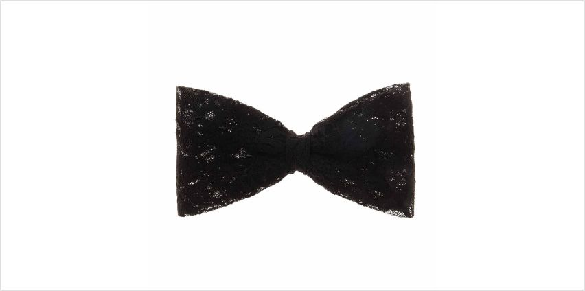 Go to Product: Large Black Lace Hair Bow from Claires