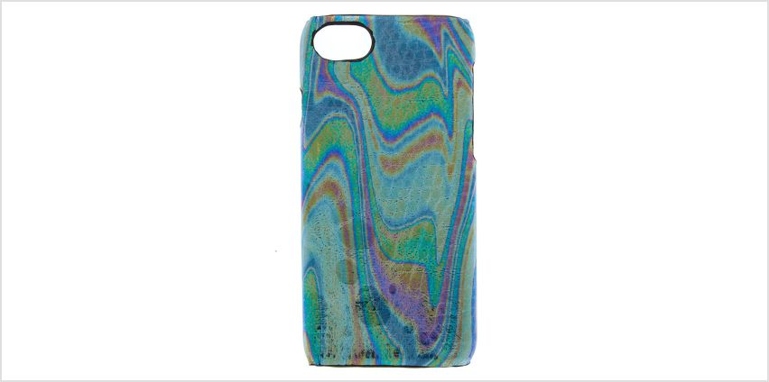 Go to Product: Oil Slick Snake Skin Phone Case - Fits iPhone 6/7/8 from Claires