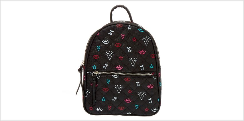 Go to Product: Icon Small Backpack - Black from Claires
