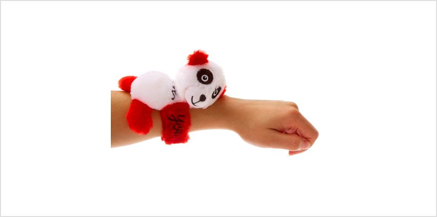 Go to Product: #Lovable Huggable® I Love You Panda Slap Bracelet - Red from Claires