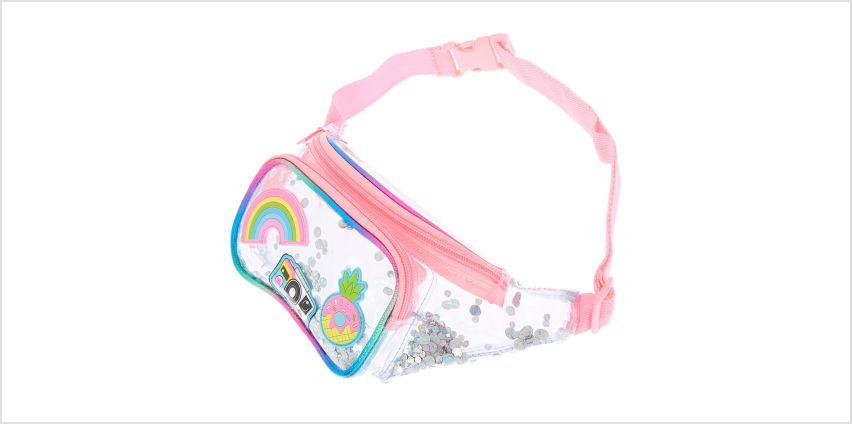 Go to Product: Sequin Shaker Neon Patch Bum Bag from Claires