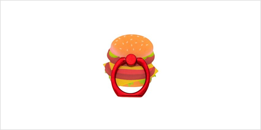 Go to Product: Hamburger Ring Stand - Orange from Claires