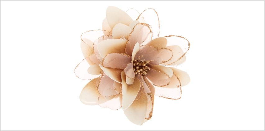 Go to Product: Lily Flower Hair Barrette - Champagne from Claires