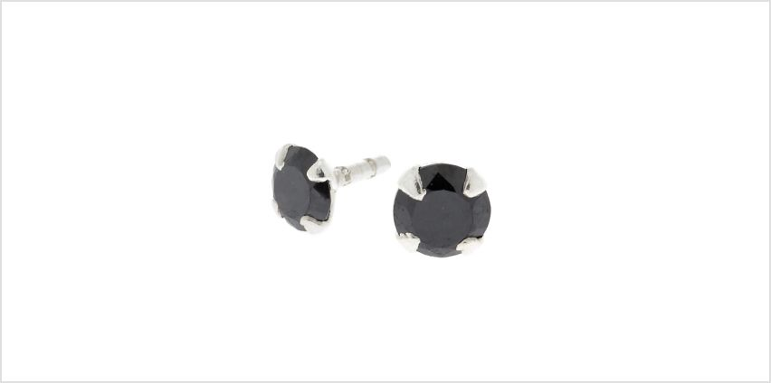 Go to Product: Cubic Zirconia 16G Stone Labret Stud - Black from Claires