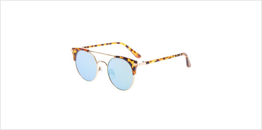 Go to Product: Round Aviator Tortoiseshell Sunglasses - Brown from Claires
