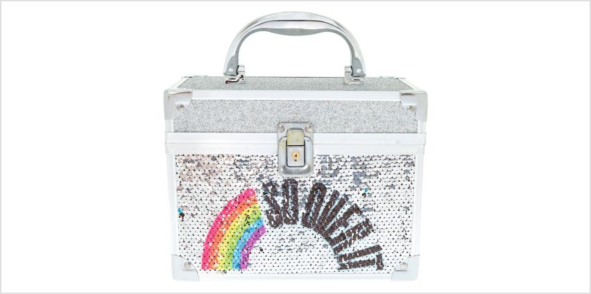 So Over It Reversible Sequin Lock Box from Claires
